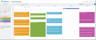Staff Schedule - Scheduler View