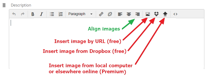 Add images to Teamup events