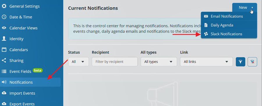 add slack notifications