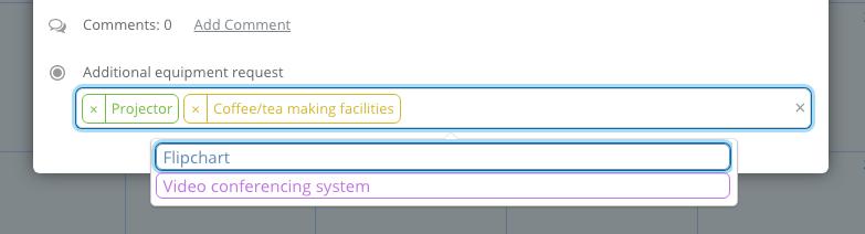 custom field multiple choices