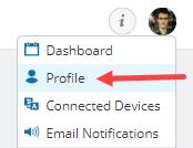 access account profile